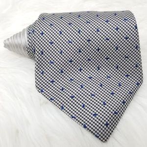 Tommy Hilfiger Necktie Silver Blue Speckled Tie